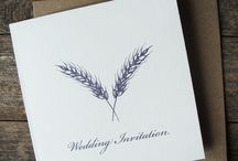 Wedding Stationery by A Farmer's Daugther / Wedding Stationery designed and made by A Farmer's Daughter. We have a range of off the peg and bespoke options for your country wedding at afarmersdaughter.co.uk