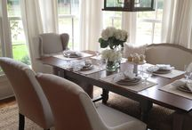 Dining Room / Our dining room is where we all catch up on our lives. / by Rose zimmerman