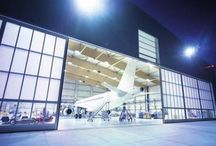Puertas de hangar / Hangar door / http://www.puertas-de-hangar.com