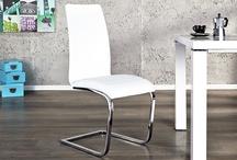 Freischwinger / Mit den Freischwinger Stühlen von Riess Ambiente erreichen Sie das Maximum an Sitzkomfort. Die Verschmelzung aus bequemer Polsterung und deren leichten Federung führt zu einer entspannten Sitzhaltung und garantiert langes Sitzvergnügen!