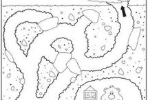 Free Printable animal Mazes for kids / This page has a lot of Free Printable animal Mazes for kids,teachers and parents