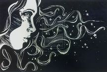 ✎ Drawings of the soul / Drawings that I find on the internet and I like.