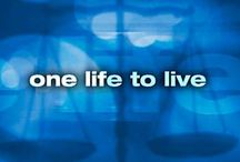 One life to live / by Michon Hatin