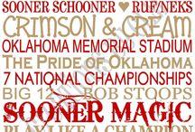 Oklahoma Sooner Football / by Chris Merrill