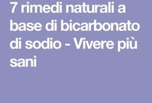 bicarbonato/rimedi naturali