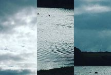 my work Clouds over water #photography #camera #sketch