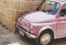 fiat500 pink
