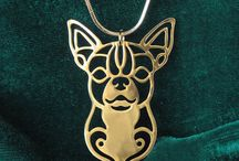 Dogs  -  necklace