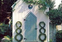 Garden Shed / Someday I will build a garden shed - here is my inspiration.