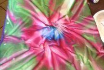 Sun dyed fabric / Quarter metre fabric sun printed