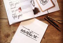 - Handlettering -
