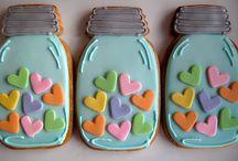 Sugarpaste Cookies: Love