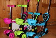 Самокаты, пэниборды, толокары / Самокаты детские и не только, пэни борды, скейтборды, вейв борды