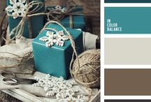 GREAT COLOR COMBOS / Color combinations that I really like.