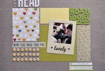 Corta, pega y colorea / Scrapbooking, collage and so on