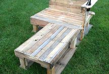 Pallette Furniture / crafts / Woodwork
