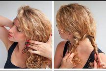 kıvırcık saç yapımı modelleri