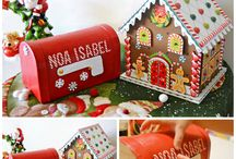 DIY BUZON PARA PAPA NOEL / Tutorial para realizar un Buzón Mágico para enviar la Carta a Papa Noel desde casa. Magic Mail Box to send letters to Santa Claus from our home.