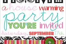 House Warming party ideas / by Lacy Wilson