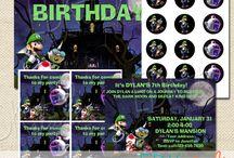 Luigi's Mansion Bday/Halloween Party