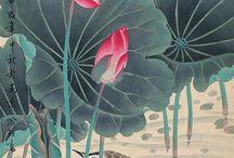 Yuzen kimono patterns