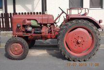 Trecker / und andere Landwirtschaftsfahrzeuge. Ich mag diese Teile