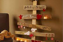 Décorations de Noël / Des décorations de Noël champêtres et  chics à faire soi-même ou à acheter