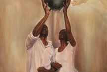 Angels world in art / by Angel Pendergrass