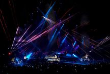 Celebrity Tour lighting shows / ROBE lighting show at Celebrity tours all over the world