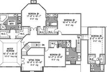 Dream Home - Floor Plans / by April Housel
