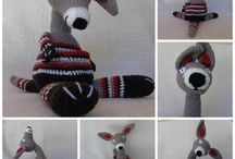 Animaux au crochet - Tricot- Couture