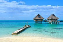 Bora Bora Hilton Nui / Bora Bora, Hilton, Paradise, Overwater, Beach, Wedding, Honeymoon, Villa