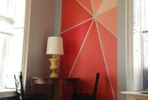 Wall art and painted walls