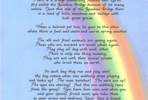 Poems for loss of a pet