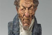 Daumier, sculptures