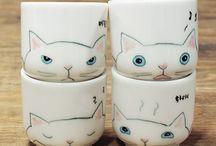 peinture sur porcelain