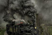 Comboios e linhas