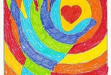 Art -- warm and cool colours