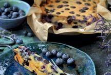 Bes bij de koffie / Maak uw eigen feestje met gebak met blauwe bessen! Inspiratie en creatie met blauwe bessen