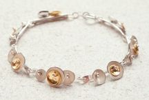 BANGLES & BRACELETS / Sophie can be inspired by any theme, creating bracelets and bangles to suit any wearer.