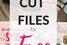 Silhoutte - Cut Files