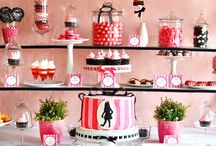 Candy Buffets - Pink and Black / by Oh Buttercup Events