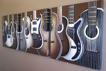 Art: Graphics: Guitars / by Junkin' J