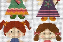 dolls cross stich patterns