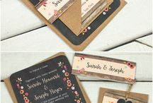 Wedding Stationary / From invites to Ceremony schedules... Find your ideas here