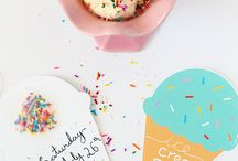 PARTY | icecream party / Ideas for an icecream themed party!