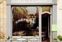 Tiny cafe shop