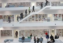 Libraries, Book Stores and Reading Places