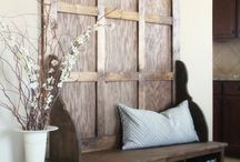 Rustic Design / Rustic Inspired Design for the home