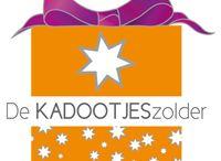 De Kadootjeszolder / Kado artikelen voor feesten, scholen, verjaardagen, kinderpartijtjes, sinterklaas, kerst, bedrijven en nog veel meer
